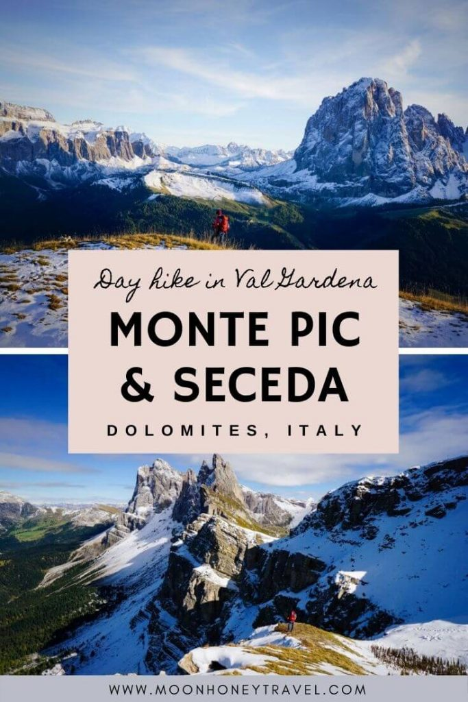 Monte Pic and Seceda Circuit Hike, Dolomites