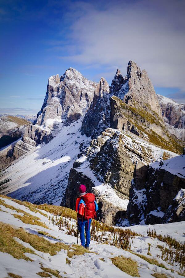 Seceda, Puez-Odle Nature Park, Visiting the Dolomites in October