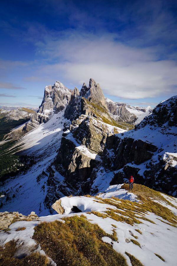 Seceda Lookout, Val Gardena Dolomites
