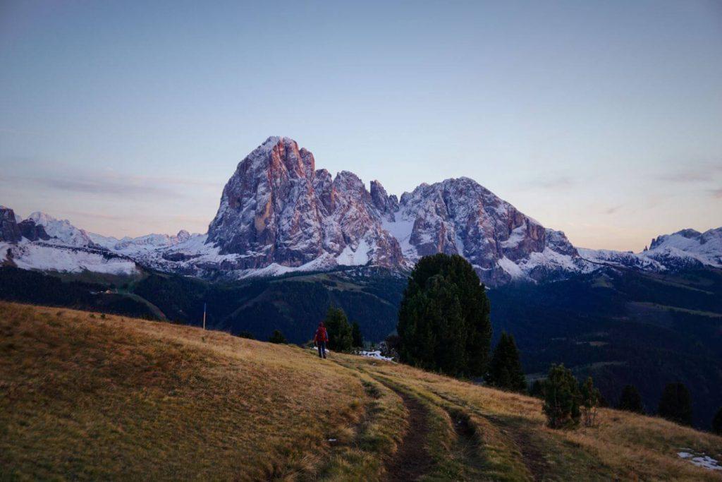 Sëurasas Alpine Pastures, Santa Cristina, Val Gardena