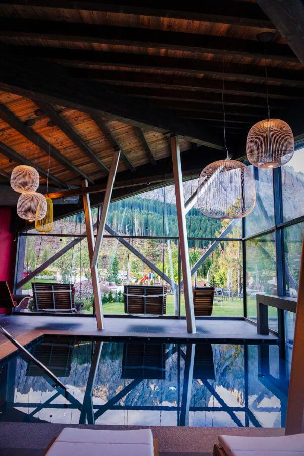 Sporthotel Alpenrose Indoor-Outdoor Swimming Pool, Eggental