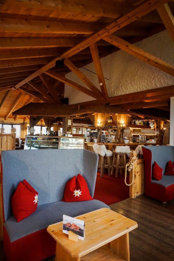 Sporthotel Alpenrose Dolomites Lounge and Café