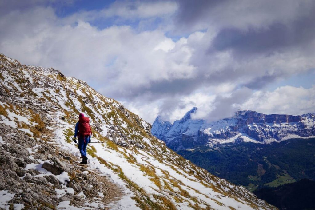 Trail 3, Furcella de Furcia/Kreuzjoch to Rifugio Genova/Schlüterhütte