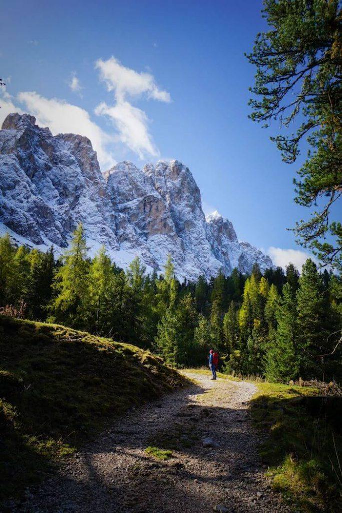 Trail 6, Zans to Kreuzjoch, Puez-Odle