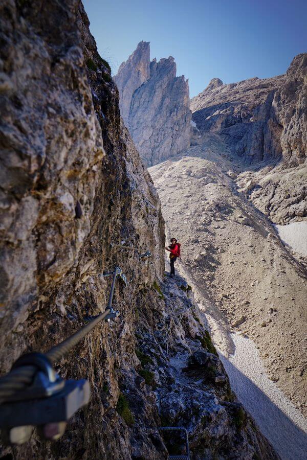 Trail 715 to Passo di Ball, Pale di San Martino