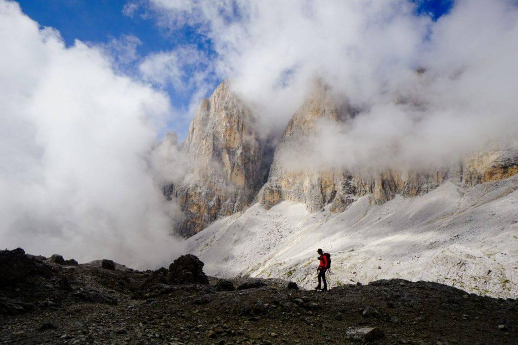 Trail 709 to Passo Pradidali Basso
