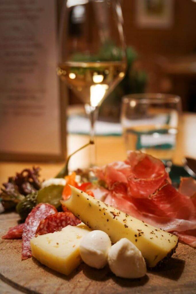 Ütia de Börz Dinner, South Tyrol, Dolomites