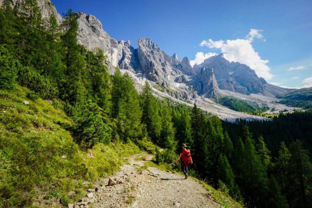 Descent to Malga Venegiota