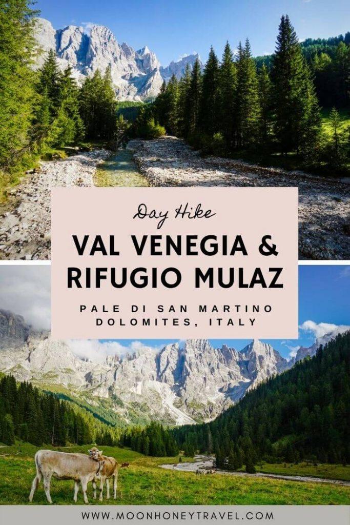 Val Venegia and Rifugio Mulaz Day Hike, Pale di San Martino