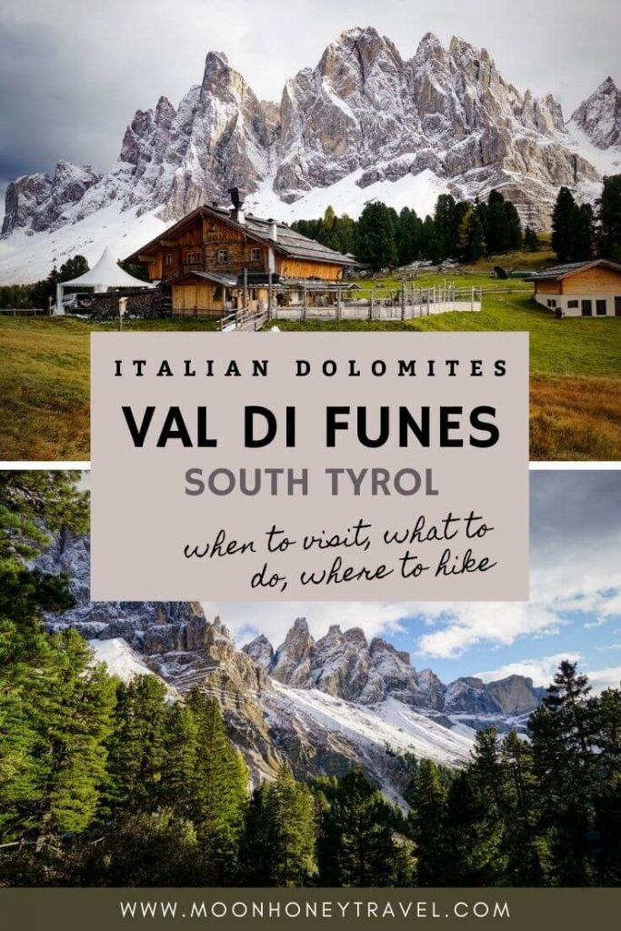 Visiting Val di Funes, Dolomites, Italy