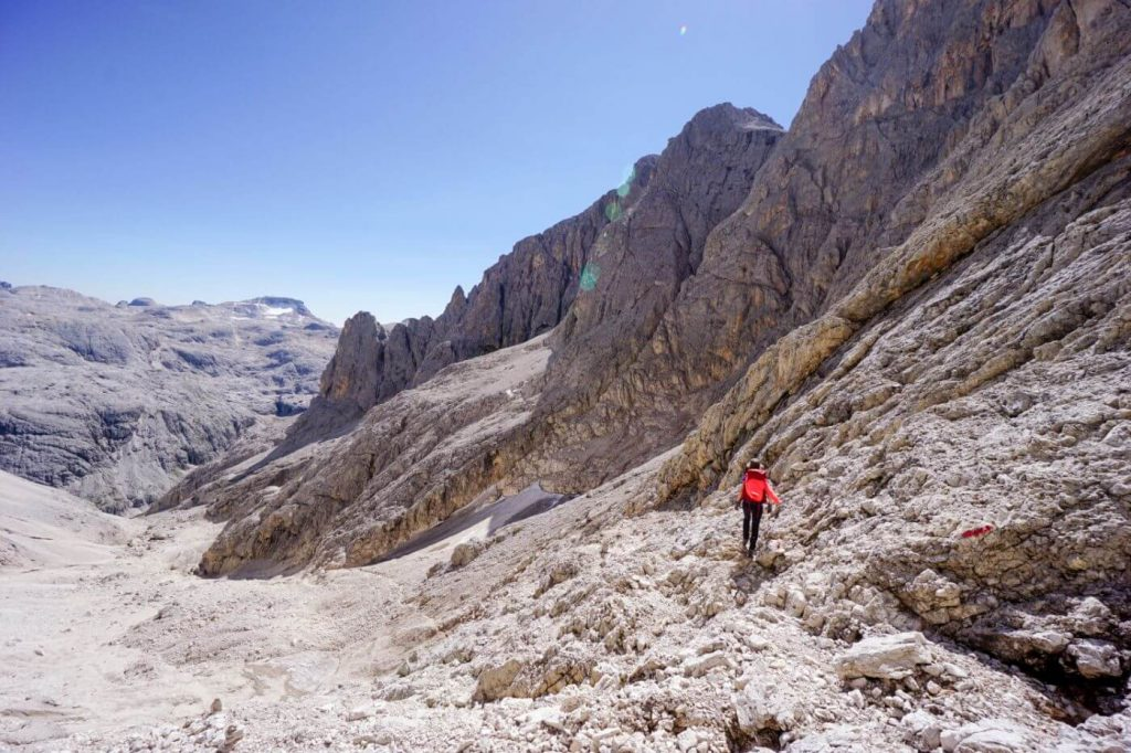 Valle dei Cantoni, Cima della Vezzana hike