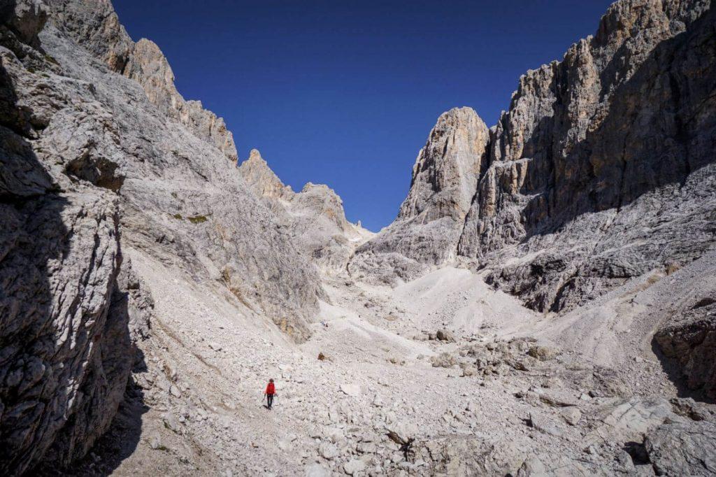 Hike to Passo del Travignolo, Pale di San Martino