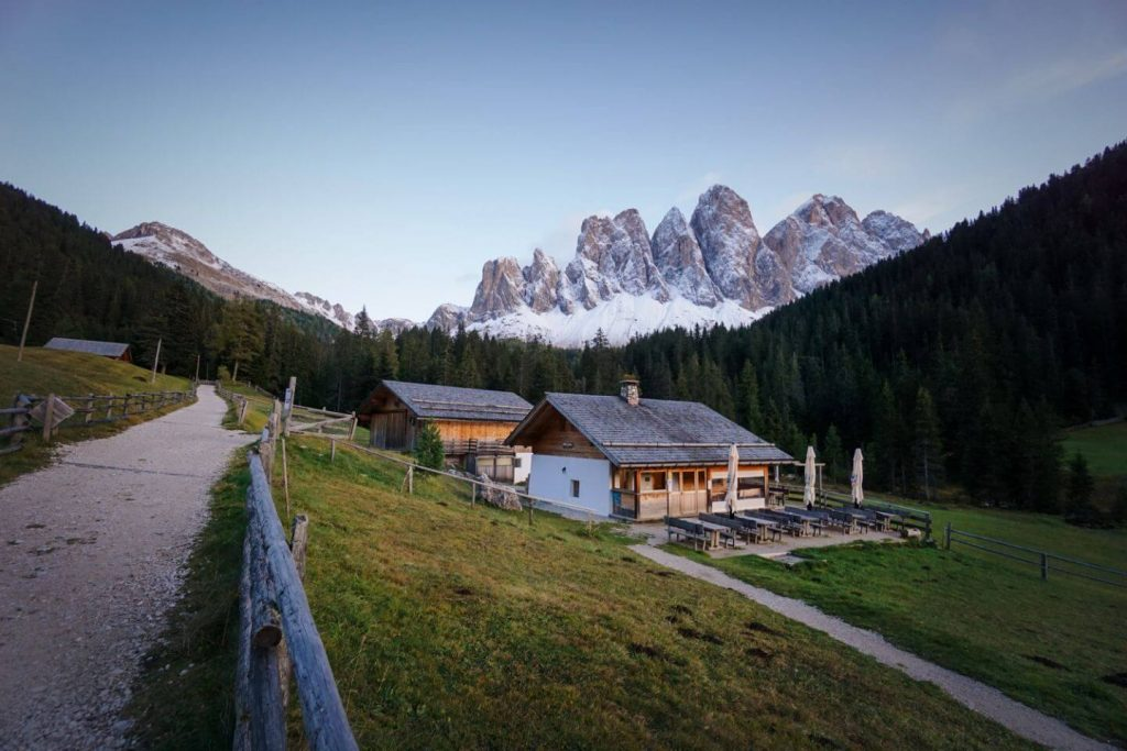Zanser Schwaige, Zannes/Zans Hiking Trailhead
