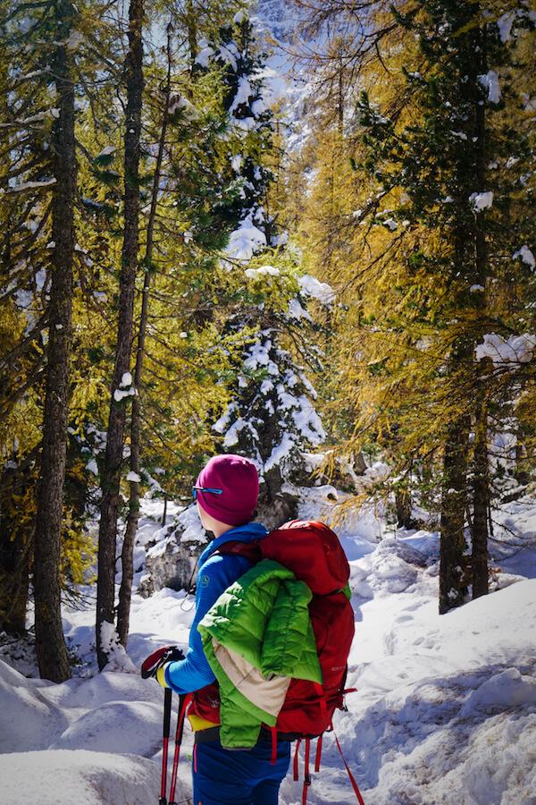 Hiking the Croda da Lago Circuit in October, Dolomites
