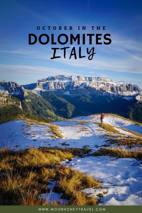 Italian Dolomites in October, Italy