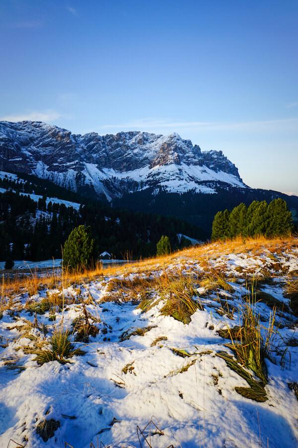 Passo delle Erbe in October, Dolomites