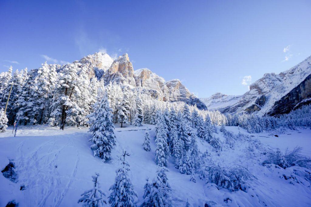 San Cassiano, Alta Badia, Dolomites in October