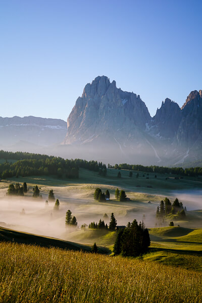 Alpe di Siusi Sunrise, Dolomites, Italy