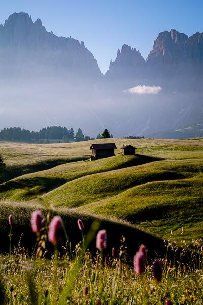 Alpe di Siusi Seiser Alm, Dolomites, Italy