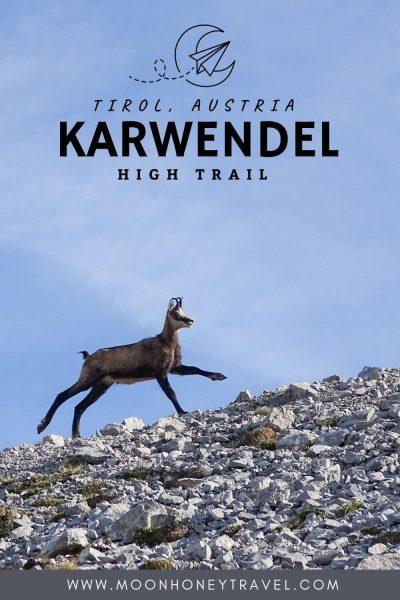 Karwendel Höhenweg / Karwendel High Trail Trekking Guide, Tirol, Austria