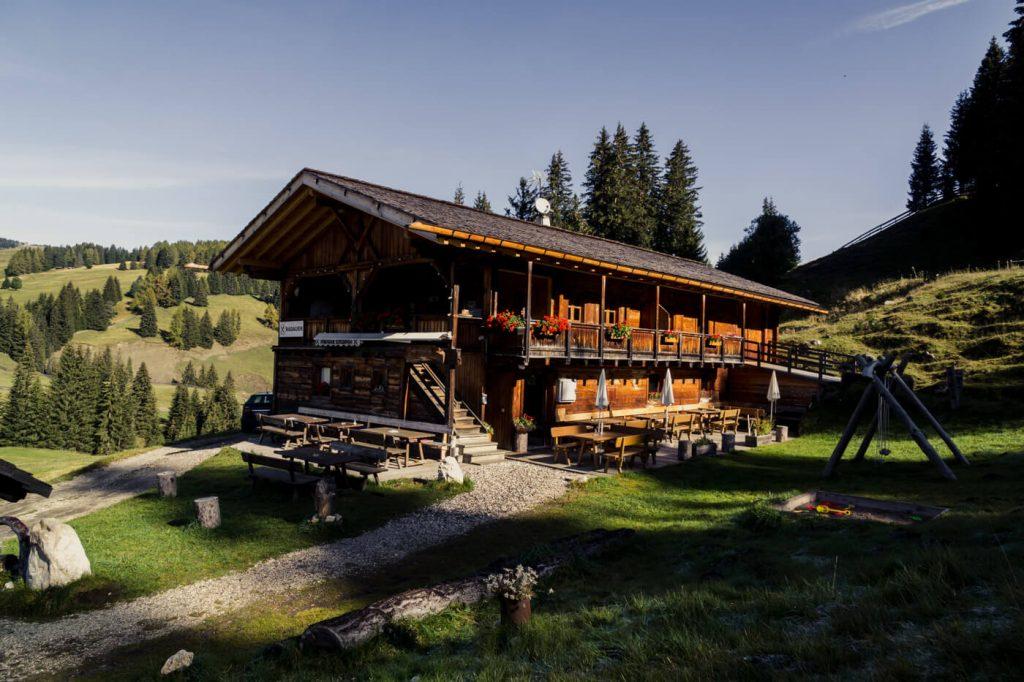Radauer Schwaige, Saltria, Alpe di Siusi