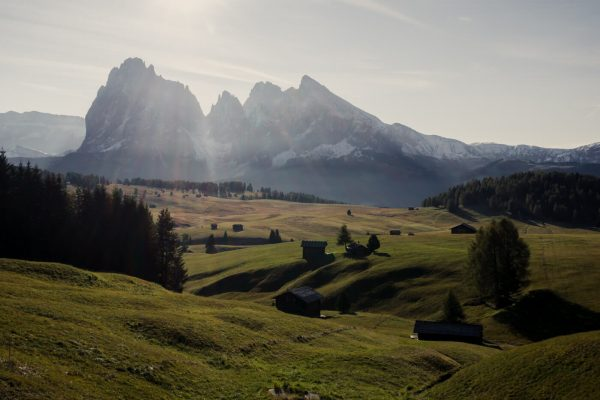 Visiting Alpe di Siusi, Italy