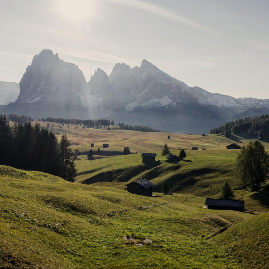 Alpe di Siusi Meadows, Ortisei to Alpe di Siusi