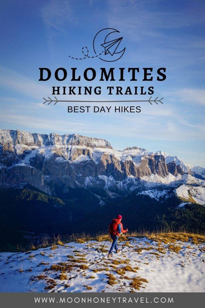 Hiking in the Italian Dolomites, Italy