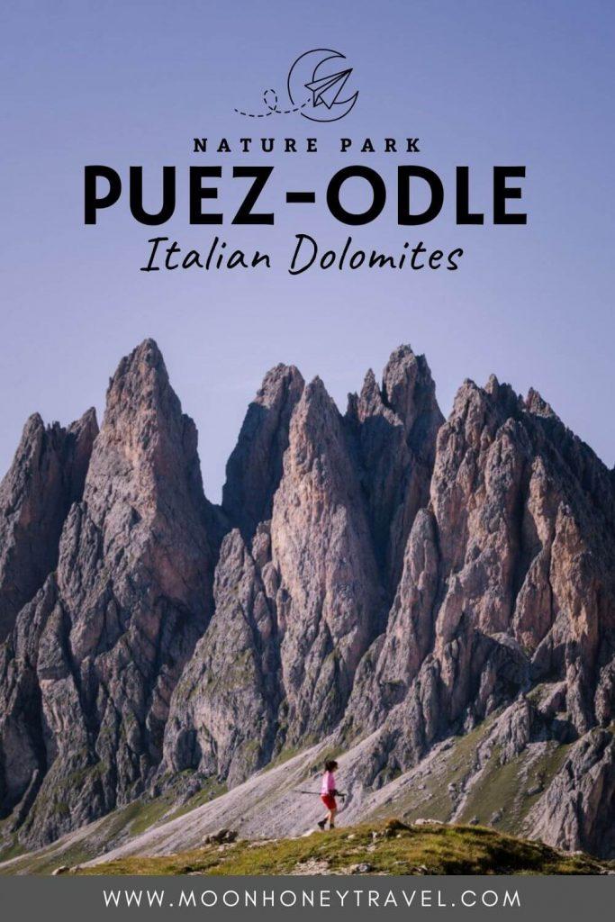 Puez Odle Nature Park, Dolomites