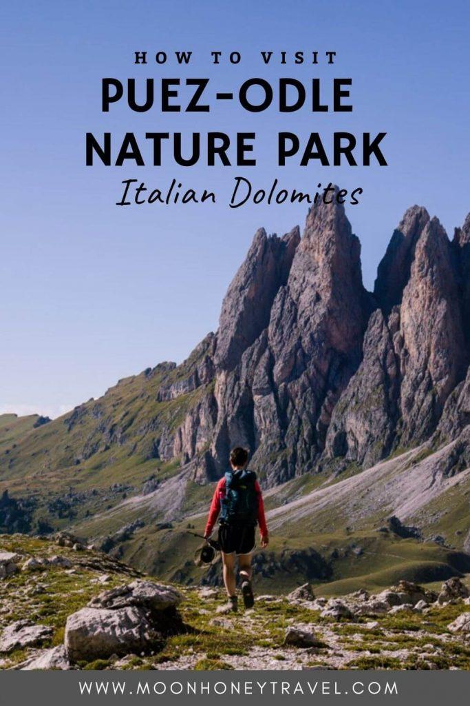 Puez Odle Nature Park Guide, Dolomites, Italy