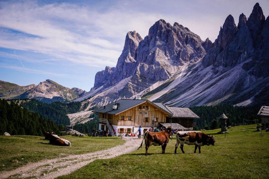 Malga Brogles, Val di Funes Alpine Pastures, Puez Geisler Nature Park