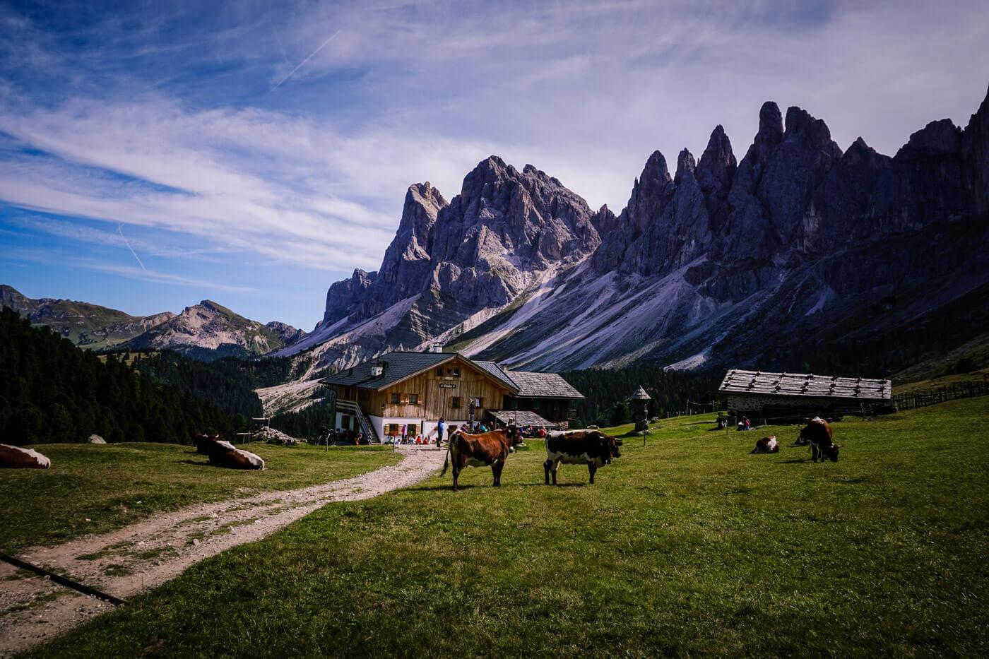 Malga Brogles, Val di Funes, Dolomites