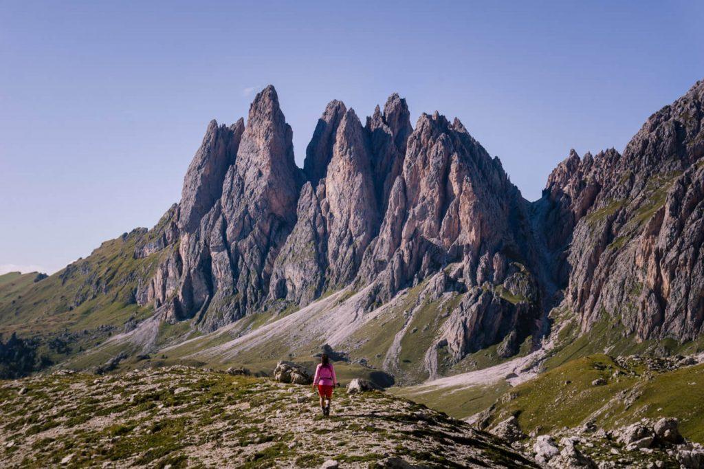 Col dala Pieres Circuit Hike, Val Gardena Hikes