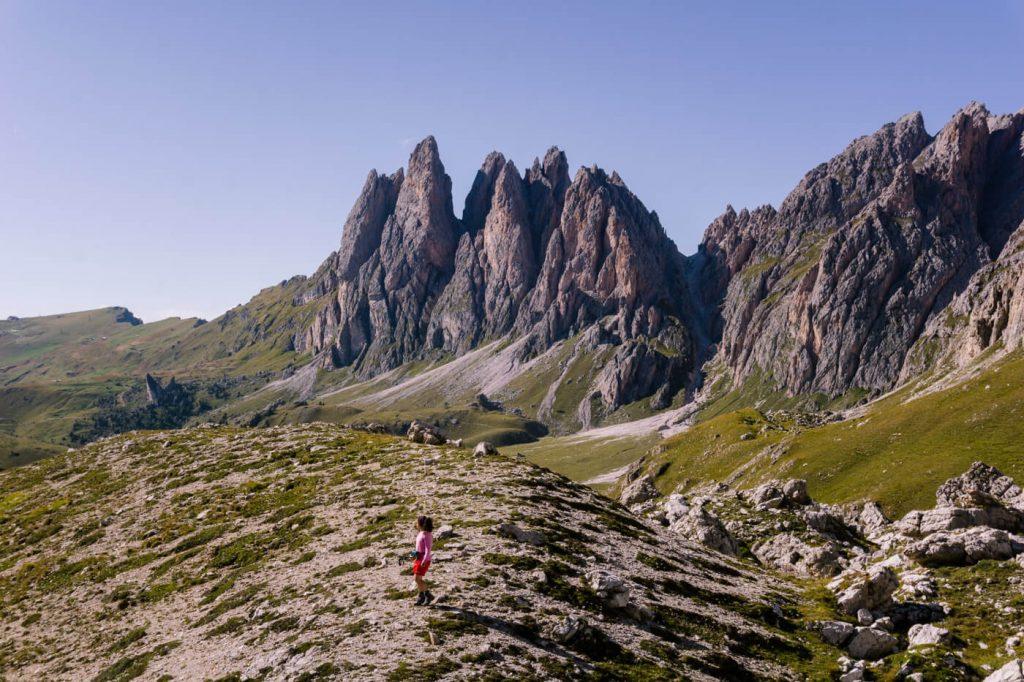 Forces de Sieles, Puez-Odle Nature Park, Dolomites