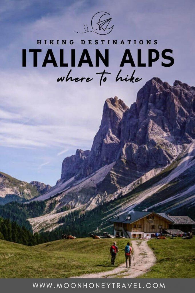 Italian Alps Summer Hiking