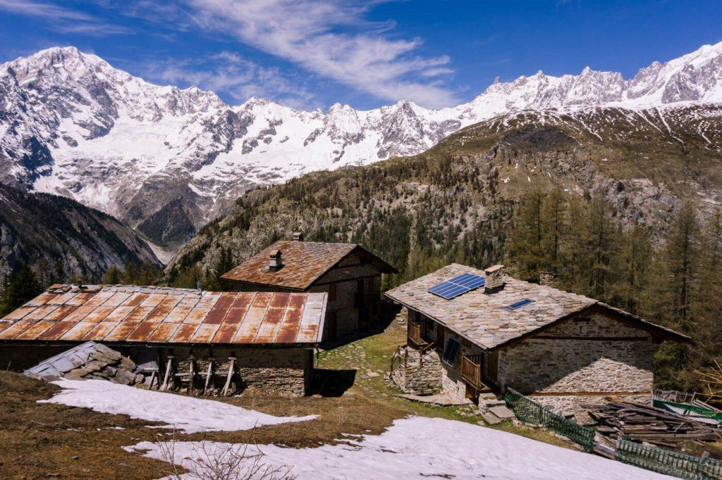 La Suche, Mont Blanc massif, Courmayeur, Italian Alps Hiking Destinations