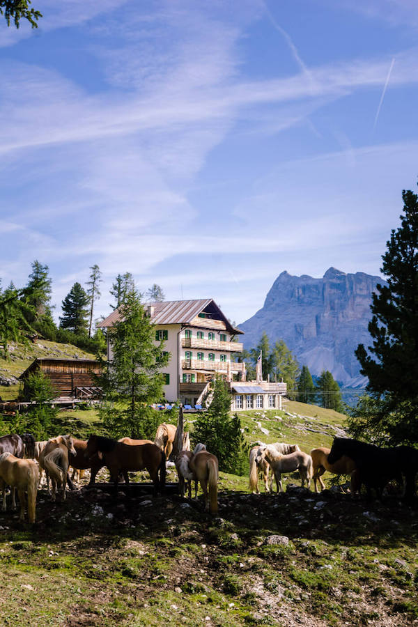 Rifugio Gardenaccia, Puez Group, Dolomites
