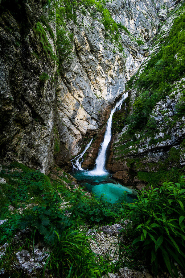 Slap Savica, Lake Bohinj, Julian Alps