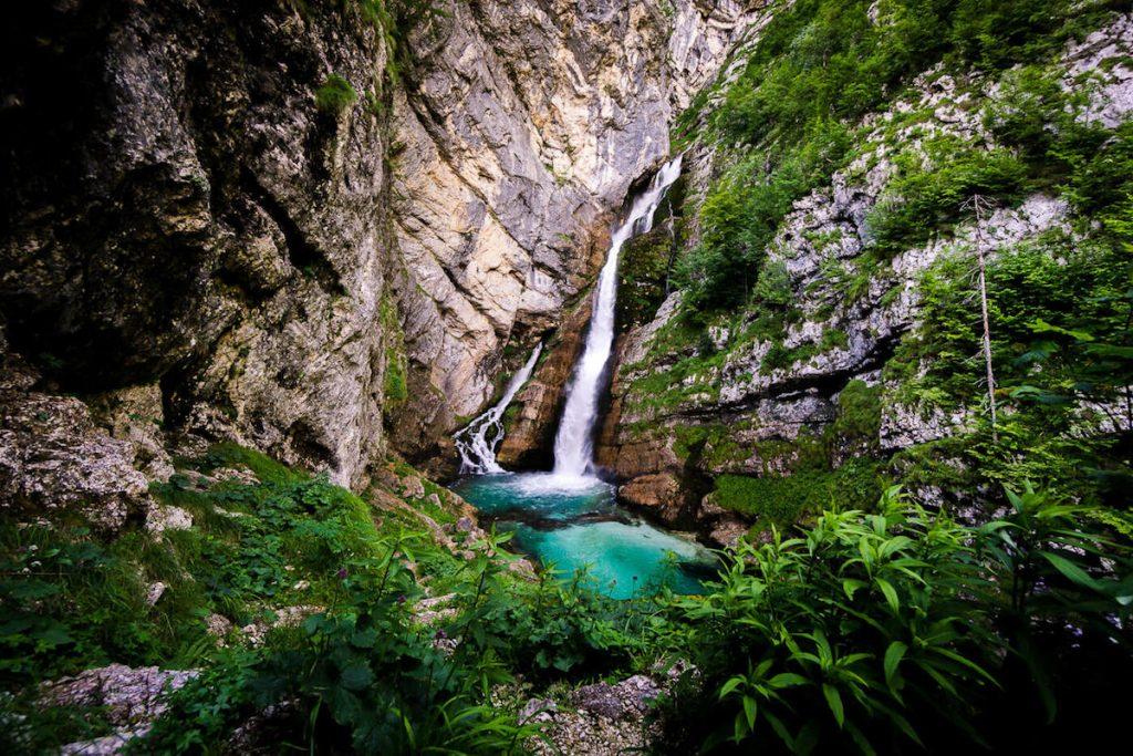 Slap Savica, Lake Bohinj, Slovenia