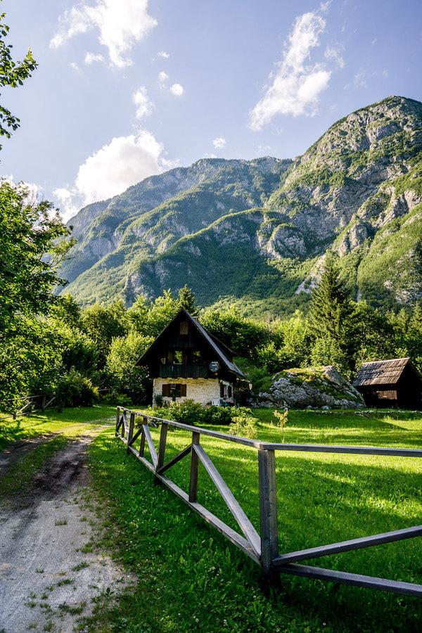 Ukanc, Lake Bohinj, Slovenia Places to Stay