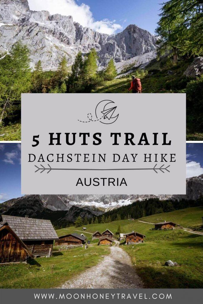 5 Huts Trail, Dachstein, Austria