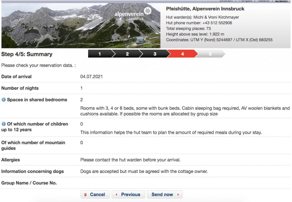 Alpsonline Step 4 Summary