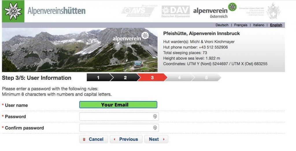 Alpsonline New User