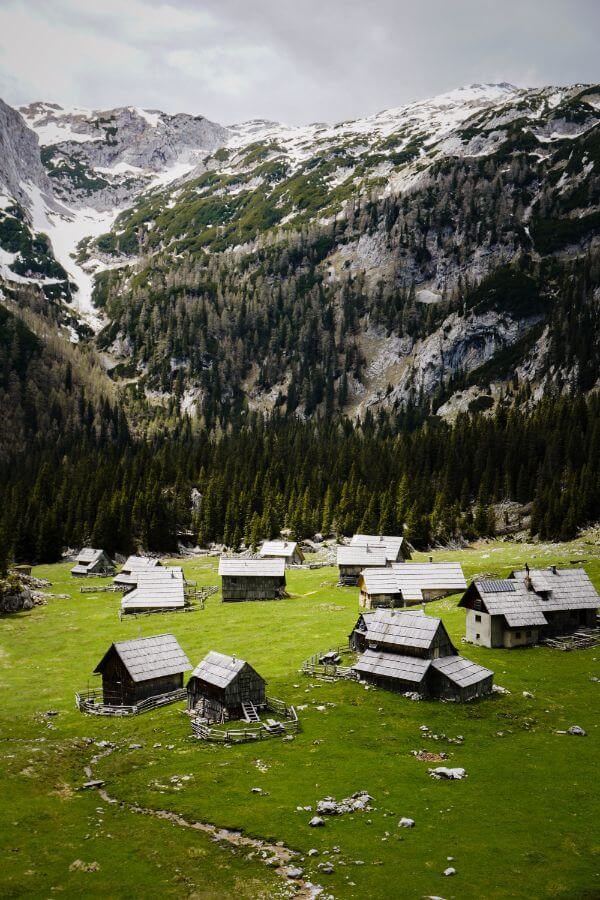 Planina Lazu, Bohinj Alpine Pastures, Slovenia
