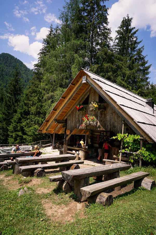 Brunarica pri Ingotu, Kranjska Gora, Julian Alps