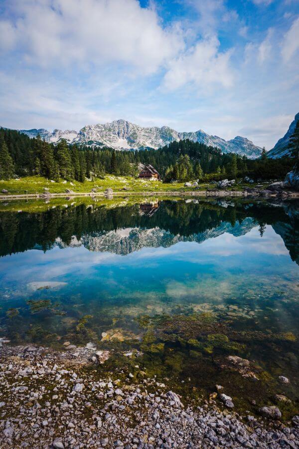 Dvojni jezero, Seven Lakes Valley