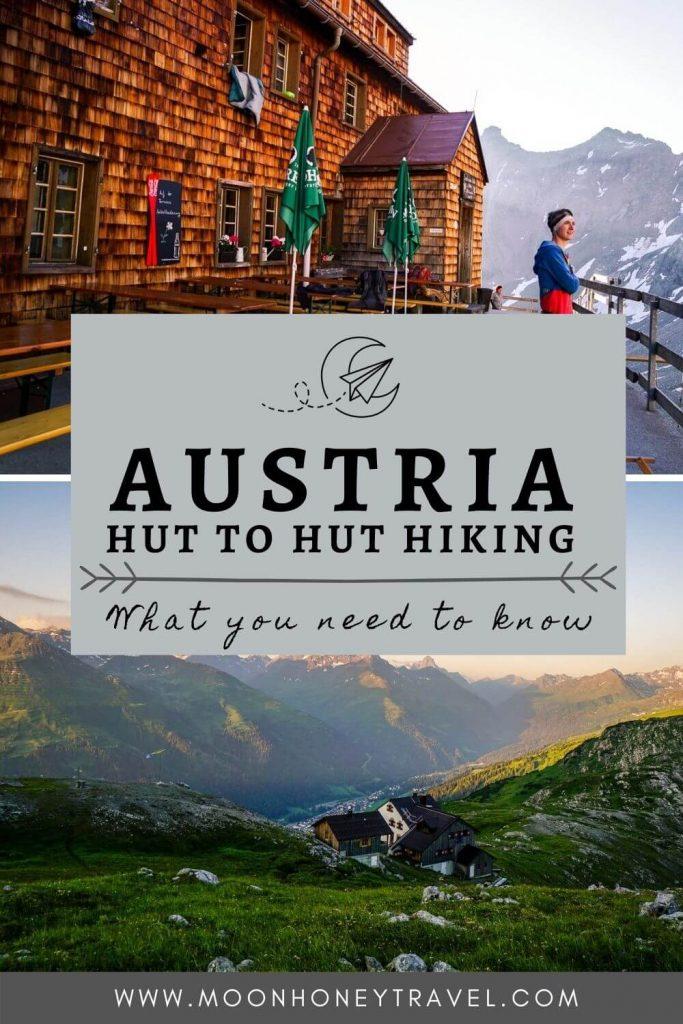 Hut Hiking in Austria
