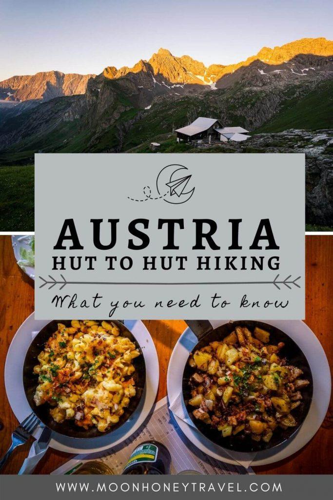Hut to Hut Hiking in the Austrian Alps