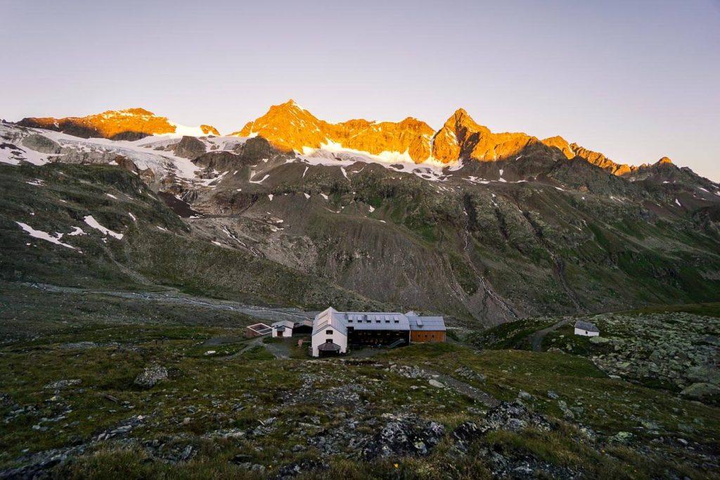 Wiesbadener Hütte, Silvretta Alps, Montafon Hüttenrunde