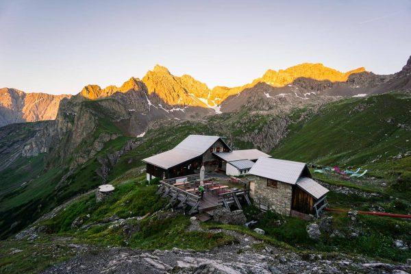 Württembergerhaus, Lechtal Alps, Tirol, Austria - Eagle Walk Stage 20